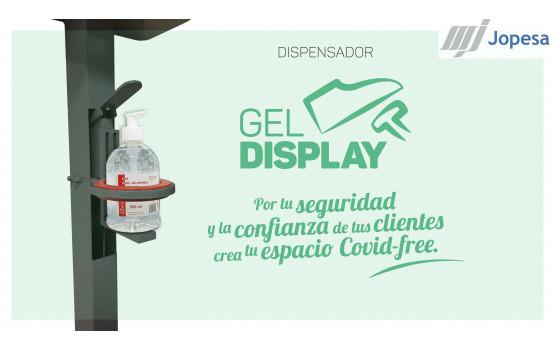 Gel Display. Dispensador de gel sin contacto